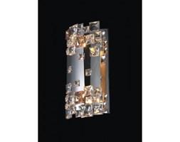 Lampa ścienna, kinkiet, z kryształkami, metalowy EVAN CHROME MB1101807-2A CH - Wejdź do sklepu, a otrzymasz 10% rabatu dodając lampę do koszyka !!!