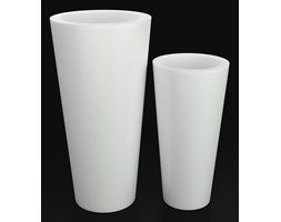 Donica z polietylenu VENUS PL-VE70 biały
