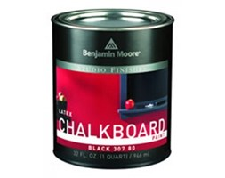 Farba tablicowa - Benjamin Moore - Studio Finishes® Chalkboard Paint 307 - czarna
