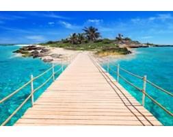 Fototapeta F7010 - Most na wyspę