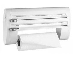 Podajnik na ręcznik papierowy i folię - Emsa - Superline - biały