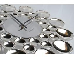 Zegar ścienny - Exito Design - Bubble silver