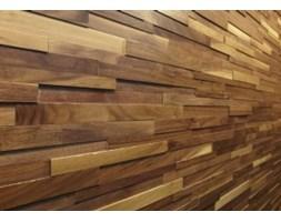 Panel drewniany - Natural Wood Panels - Orzech Amerykanski Cegiełka 3D