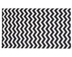 Wytrzymały dywan kuchenny Optical Black White, 80x130 cm