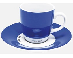 Filiżanka do Espresso Pop Art (2/Set) niebieska Kare Design 32708n