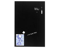 NAGA Szklana tablica magnetyczna czarna 40x60