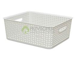 Pojemnik koszyk rattan 5l biały BQ-287012