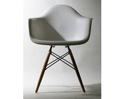Nowoczesne krzesło Eteo DAW white ABS