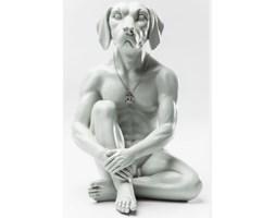 Figurka Dekoracyjna Gangster Dog szara Kare Design 38089