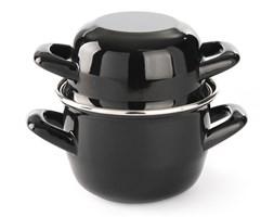 Garnek emaliowany do zup i sosów - z pokrywką kod 625705