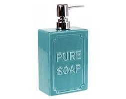 Dozownik do mydła w płynie - PURE SOAP - niebieski