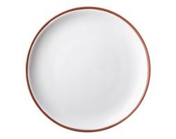 Talerz ceramiczny średnica 27cm biały