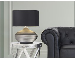 Nowoczesna lampka nocna - lampa stojaca - czarna - LIMA