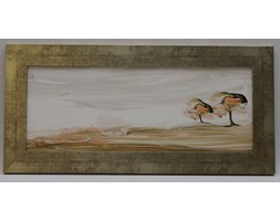 Obraz Drzewa Akwarela - 90,5 x 41 cm