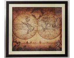 Obraz Mappe Monde 3 - 92 x 84 cm