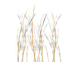Tapeta Orange-Grey 2 - 100 cm