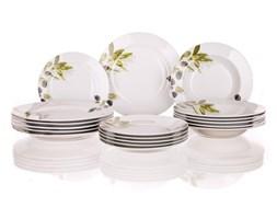 Banquet 18-częściowy zestaw talerzy Olives,