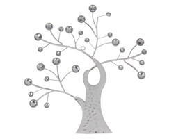 Dekoracja ścienna drzewko białe