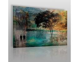 Wieczne drzewo miłości - nowoczesny obraz na płótnie