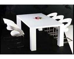Stół big biały lakierowany na wysoki połysk długość 140 cm z