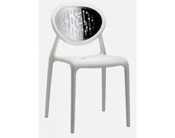 Sigur Nowoczesne Krzesło Hora-II Star białe - 2318-11