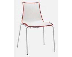 SCAB Design Krzesło Zebra Bicolore II czerwone I - 2272-212
