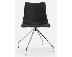 SCAB Design Krzesło Zebra Pop IV czarne ekoskóra - 2646-EP-75