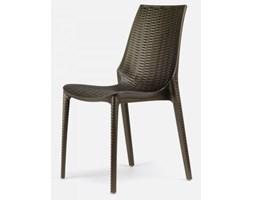 Sigur Nowoczesne Krzesło Lucrezia-II brązowe - 2323-70