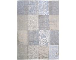 Dywan naturalny vintage patchwork 8237 GustavianBlue - błękitno beżowy 280x360 cm