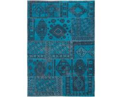 Dywan naturalny vintage 8906 BlueLagoon - turkusowy 60x90 cm