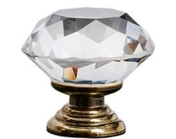 JB Diamond Clear Gold 25mm uchwyt