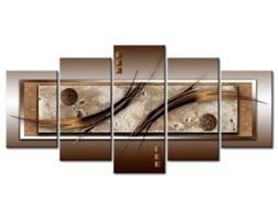 BIMAGO Obraz Delikatne kształty i ciepłe barwy