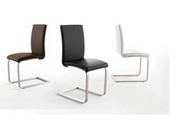 Krzesło Josephine (brązowe, eko-skóra)