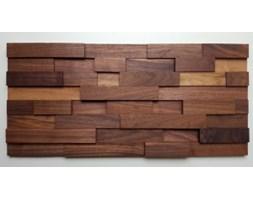 """Panel drewniany - Natural Wood Panels - ORZECH AMERYKAŃSKI """"35""""cegiełka drobna"""