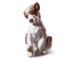 Figurka Pieska ze ślimakiem 13x12 cm