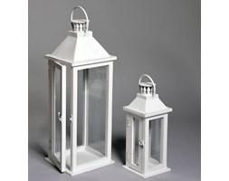 Latarenka drewniana Deco Lantern 34cm 26392-1