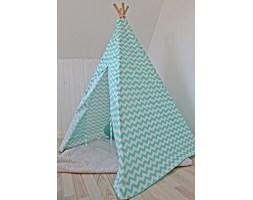namiot wigwam zygzag mięta mały
