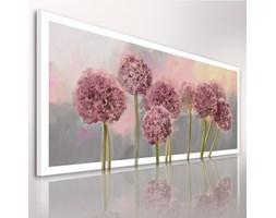 Obraz na płótnie 120x50cm + KWIATY+