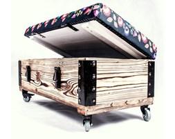 Pufa, siedzisko skrzynia loft rustik