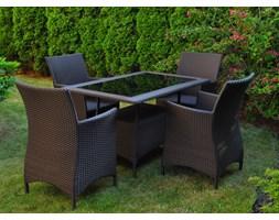 Stół ogrodowy TORINO 1,3m kolor brązowy