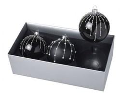 Ozdoby świąteczne Dark Ball, 3 szt.