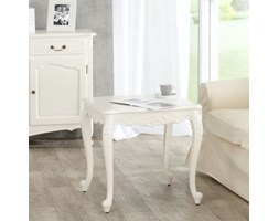 Dekoria Stolik Dorothee 60x60x60cm white, 60x60x60cm