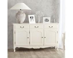 Dekoria Komoda Dorothee 3 szuflady + 3 drzwi, white, 151x45x91cm