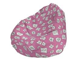 Dekoria Worek do siedzenia, zabawne zwierzątka na różowym tle, Ø50x85 cm, Kids/Baby do -30%