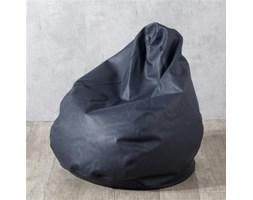 Dekoria Worek do siedzenia, granatowa czerń (eko-skóra), Ø80x115 cm, Eco-leather