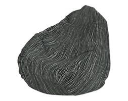 Dekoria Worek do siedzenia, czarno-biały, Ø50x85 cm, Comics