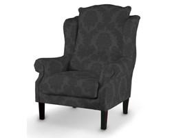 Dekoria Fotel, czarny, 85x107cm, Damasco