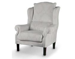 Dekoria Fotel, jasny popiel, 85x107cm, Damasco