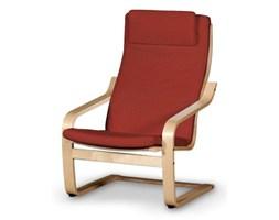 Dekoria Poduszka na fotel Poäng II, czerwony szenil z wplecioną czarną nitką, Fotel Poäng II, Living