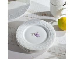Dekoria Zestaw talerzy deserowych Fresh Lavender 4 szt śr. 19 cm, o19 cm